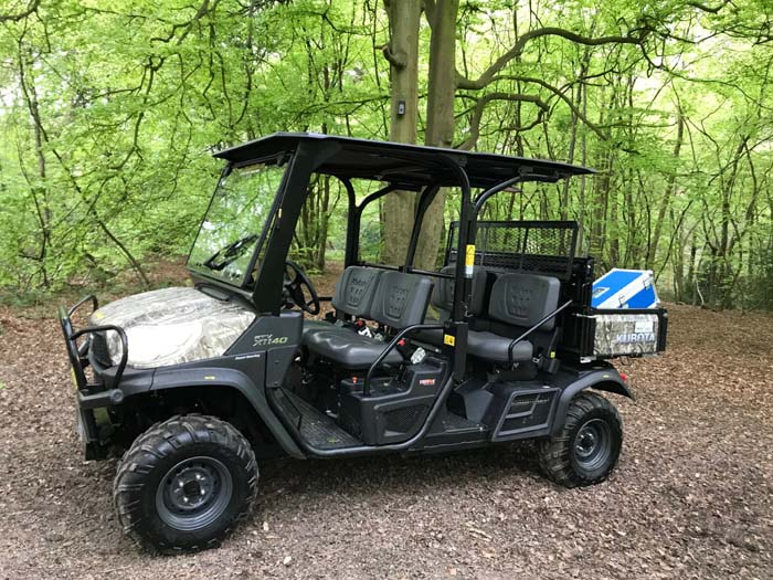 ATV from On Location Hire